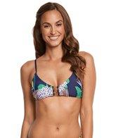 Trina Turk Midnight Paradise Bralette Bikini Top
