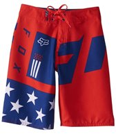 FOX Boy's Red, White, & True Boardshort