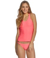 930c9235f90d4 Nike Women's Ribbed Racerback Midkini Top at SwimOutlet.com - Free ...