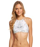 O'Neill Delany Macrame Halter Bikini Top
