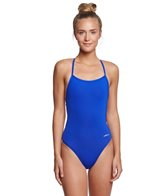 Dolfin Bellas Women's Solid Tie Back One Piece Swimsuit