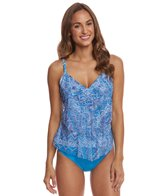 Sunsets Tangier Ava Tiered Tankini Top (E/F/G/H Cup)