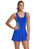 Dolfin Aquashape Women's St Lucia Colorblock Swim Dress