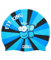 Funky Trunks Fly King Silicone Swim Cap