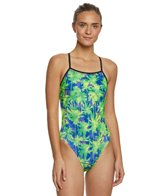 Speedo Turnz Women's Palm Play One Back One Piece Swimsuit