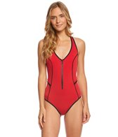 Duskii T-Back Neoprene One Piece