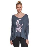 LIFE Clothing Baby Moon Long Sleeve Yoga Tee