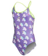 Turbo Girls' Unicorn One Piece Swimsuit