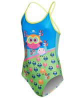 Turbo Girls' Owls One Piece Swimsuit