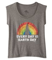 O'Neill Girls' Rainbow Earth Tee (7-16)
