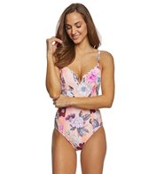 Seafolly Modern Love V Wire One Piece Swimsuit