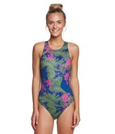 Zumo Floral Camo Women's Water Polo Suit