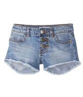 Billabong Girls' Buttoned Up Denim Shorts (4-14)