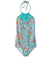 Billabong Girls' Blooming Beauty One Piece Swimsuit (4-14)