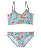 Billabong Girls' Blooming Beauty Athletic Bikini Set (4-14)