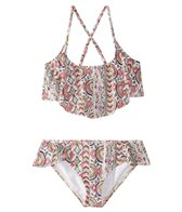 Billabong Girls' Gypsea Flutter Bikini Set (4-14)