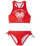 Billabong Girls' Sol Searcher High Neck Bikini Set (4-14)
