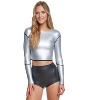 Saltbeat Women's Neoprene Electra Crop Top