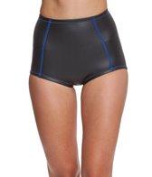 Saltbeat Women's Neoprene Calypso High Waist Bikini Bottom