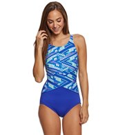 Gabar Wave Runner Mastectomy High Neck One Piece Swimsuit