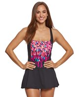 Gabar Dream Waterfall Square Neck Swimdress