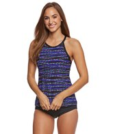 Gabar Beaded Bangle Stripe Mastectomy Tankini Set