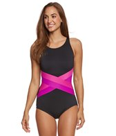 Gabar Ocean Ombre Solid Mastectomy One Piece Swimsuit