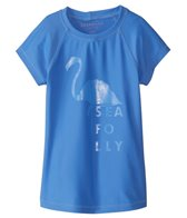 Seafolly Girls' Summer Essentials S/S Rashguard (Big Kid)