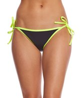 GlideSoul Women's Neoprene Tie-Side Bikini Bottom