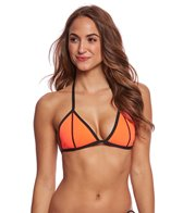 GlideSoul Women's Triangle Neoprene Bikini Top
