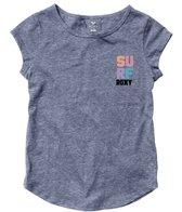 Roxy Girls' 4 Square Surf RG Fashion Crew (8-16)