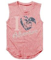 Roxy Girls' Heart Adventure Youth Muscle Tee (8-16)