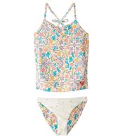 Roxy Girls' Caravane Beauty Tankini Set (2T-6)