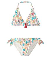 Roxy Girls' Caravane Beauty Halter Bikini Set (2T-6)