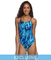 TYR Onyx Cutoutfit One Piece Swimsuit