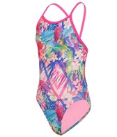 Amanzi Girls' Tropical Punch One Piece Swimsuit