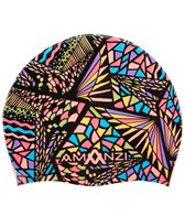 Amanzi Candy Puzzle Silicone Swim Cap