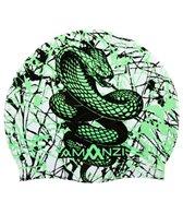 Amanzi Serpent Jewel Silicone Swim Cap