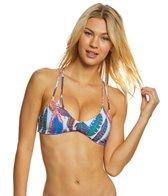 PilyQ Vida Reversible Utopia Halter Bikini Top