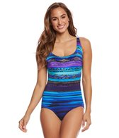 Longitude Montego Bay X-Back One Piece Swimsuit