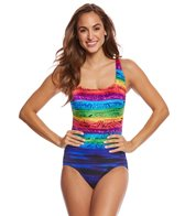 Longitude Sweet Sunset X-Back One Piece Swimsuit