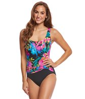 Longitude Sunny Garden Sash One Piece Swimsuit