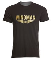 Funky Trunks Men's Gold Wingman Crew Neck T-Shirt