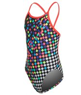 Funkita Girls' Scatter Brain Single Strap One Piece Swimsuit