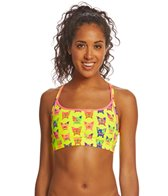 Funkita Women's Hot Diggity Sports Swimsuit Top
