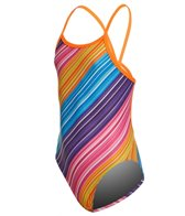 Funkita Girls' Fine Lines Single Strap One Piece Swimsuit