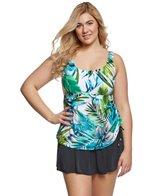 Maxine Plus Size Palm Beach Swimdress