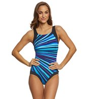 Reebok Depth Defying Women's High Neck One Piece Swimsuit