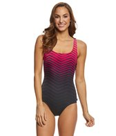 Reebok Prime Performance Women's Scoop Back One Piece Swimsuit