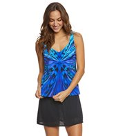 Active Spirit Animal Twister Tankini Top